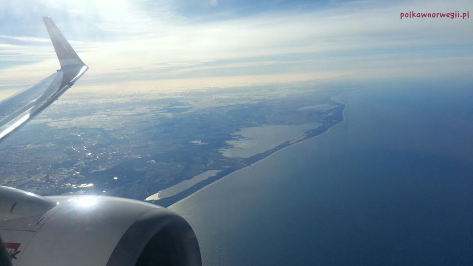 Mój lot do Norwegii