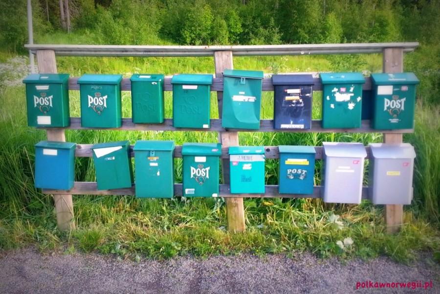 Skrzynki pocztowe w Norwegii