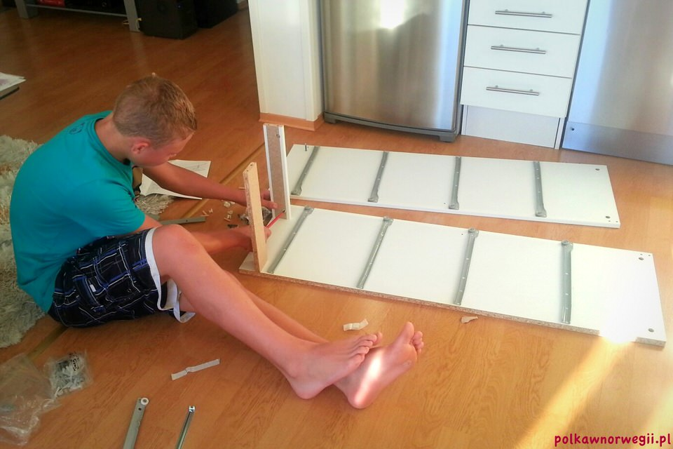 Przeprowadzka z dzieckiem do Norwegii rozpoczęła się od wizyty w IKEA