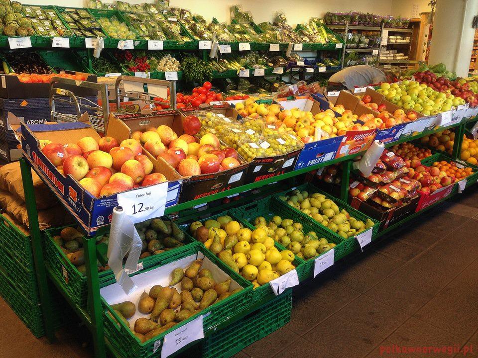 Keiser_sieć marketów owocowo-warzywnych w Norwegii