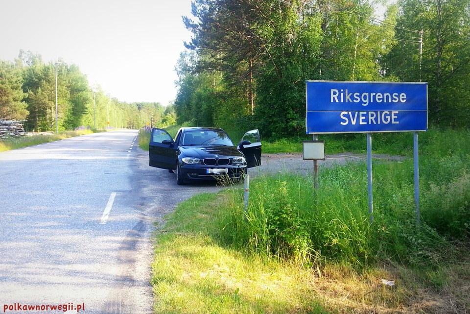 Na zakupy do Szwecji_granica państwa
