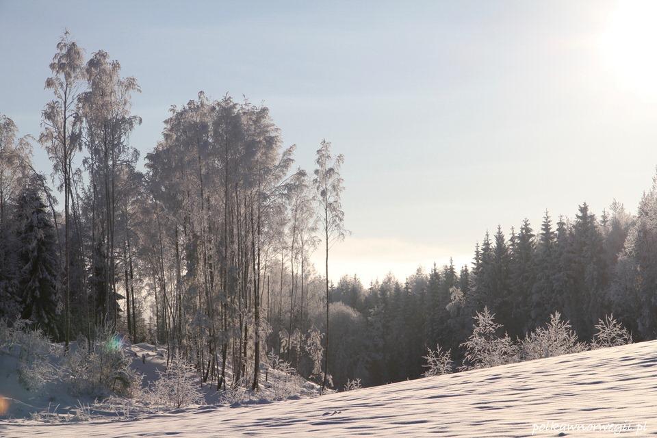 Zima w Norwegii - nie trzeba długo szukać, by zachwycić się jej urokiem