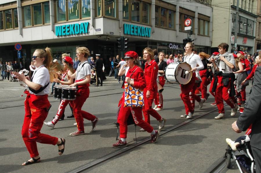 Parada Russ podczas obchodów święta konstytucji
